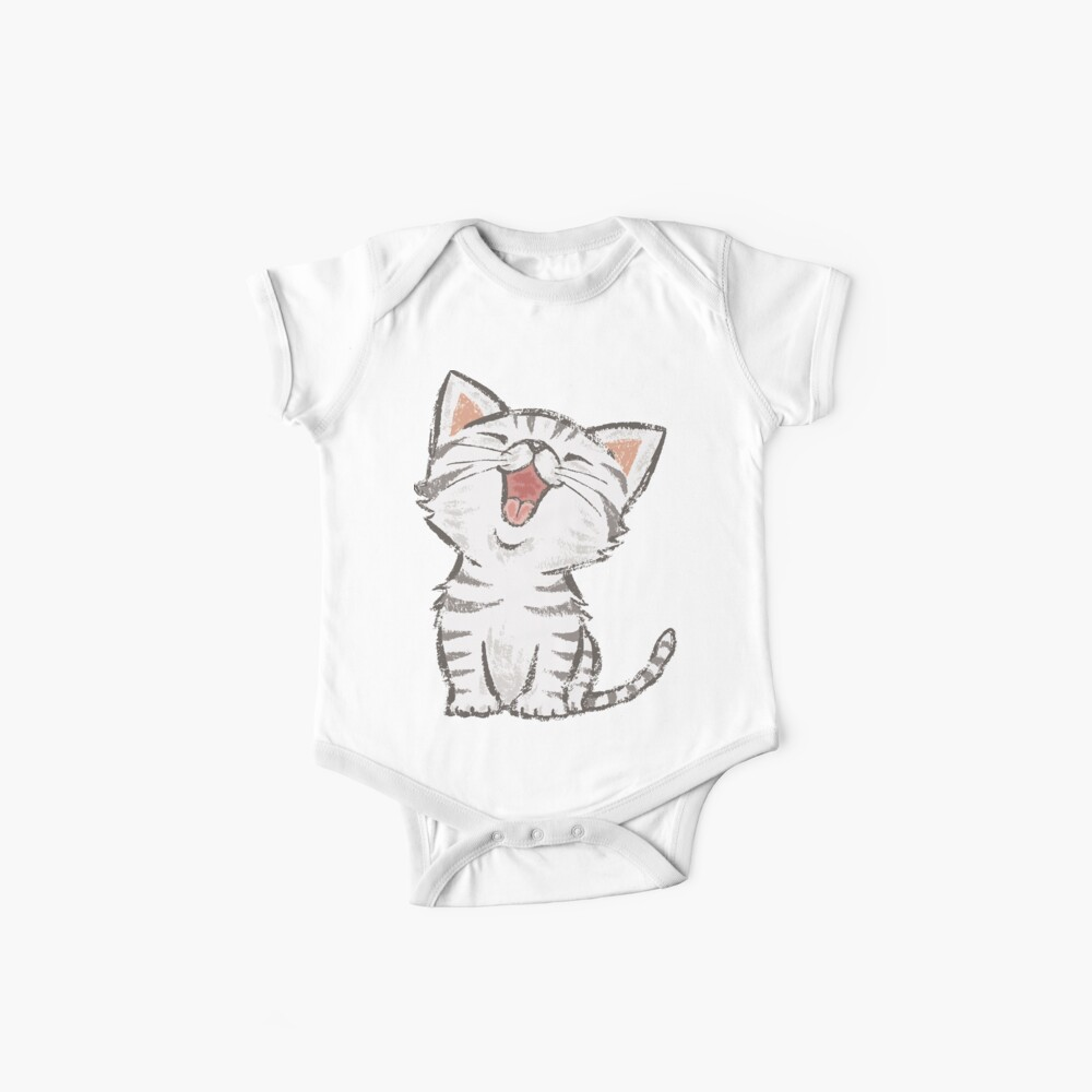 American Shorthair happy Baby One-Pieces
