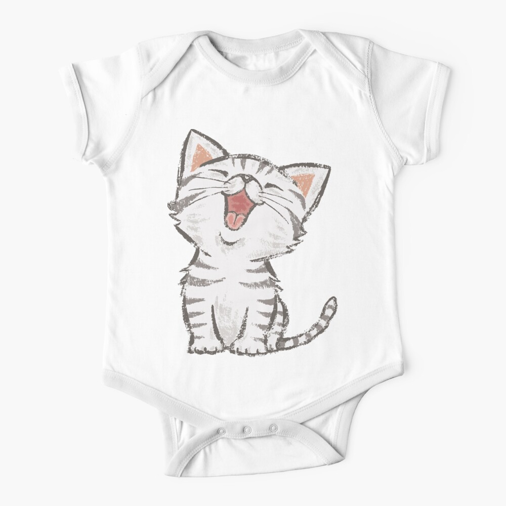 American Shorthair happy Baby One-Piece
