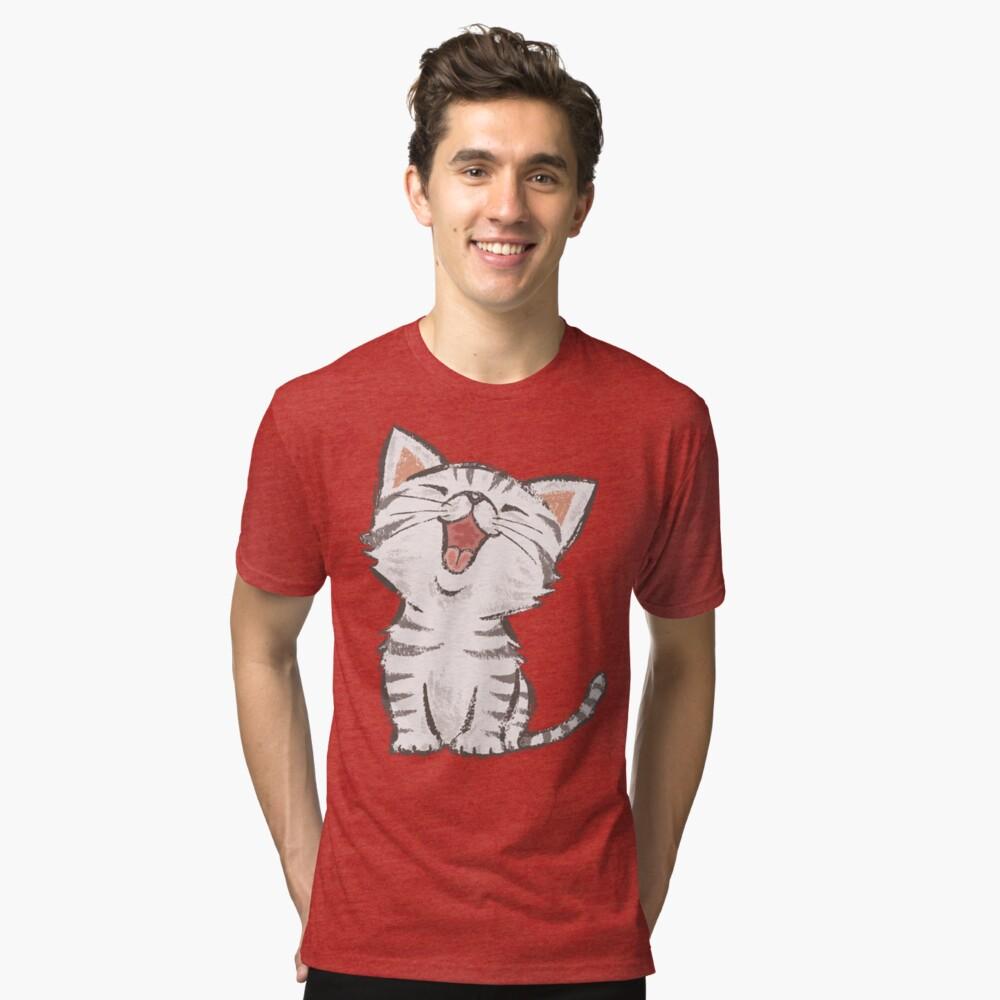 Amerikanisch Kurzhaar glücklich Vintage T-Shirt