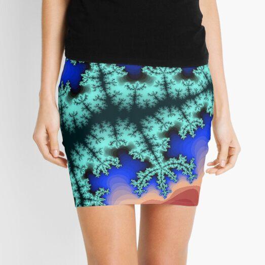 Fractal Art 26 designed and created by (c) Janet Watson Art Mini Skirt