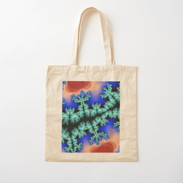 Fractal Art 26 designed and created by (c) Janet Watson Art Cotton Tote Bag