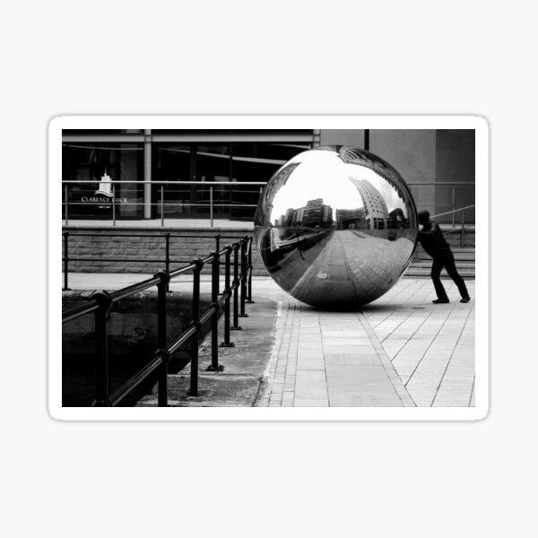 Clarence Dock - Leeds Sticker