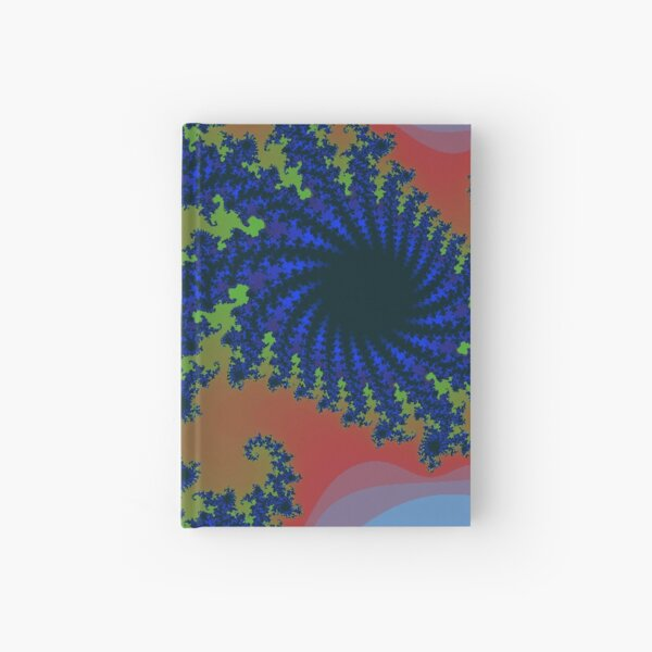 Fractal Art 19 designed and created by (c) Janet Watson Art Hardcover Journal