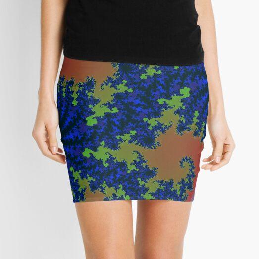 Fractal Art 19 designed and created by (c) Janet Watson Art Mini Skirt