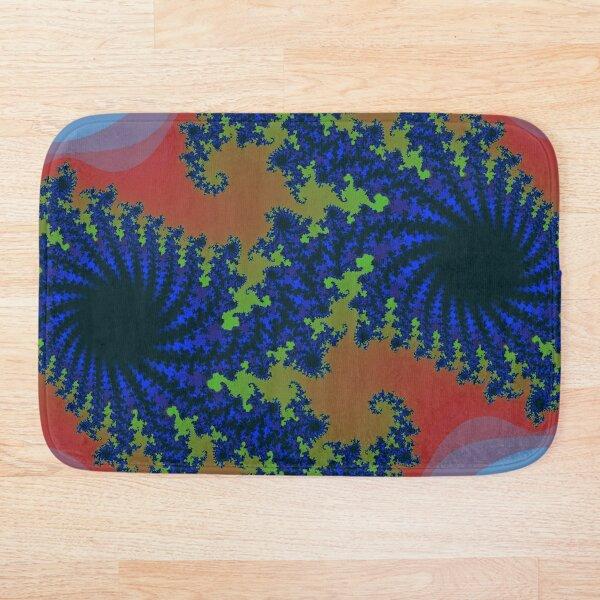 Fractal Art 19 designed and created by (c) Janet Watson Art Bath Mat
