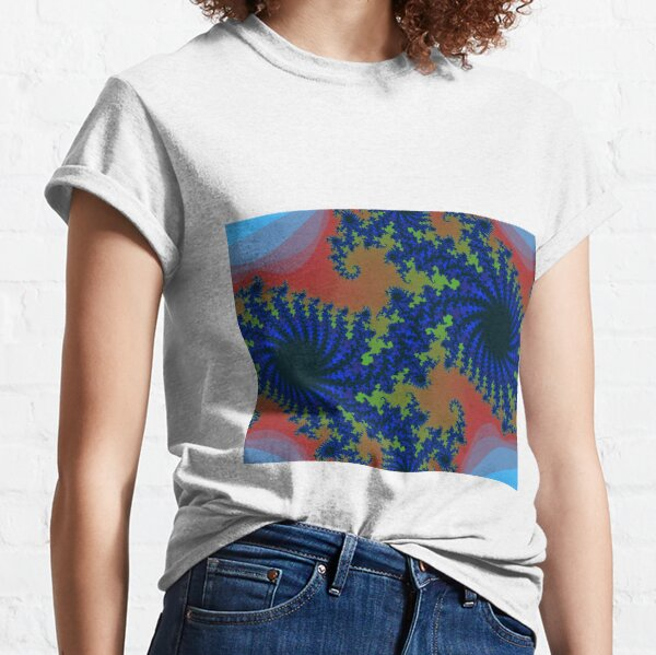 Fractal Art 19 designed and created by (c) Janet Watson Art Classic T-Shirt