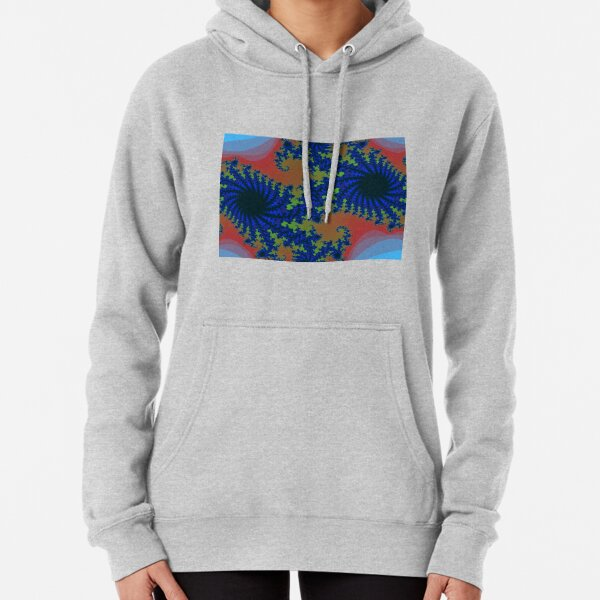 Fractal Art 19 designed and created by (c) Janet Watson Art Pullover Hoodie