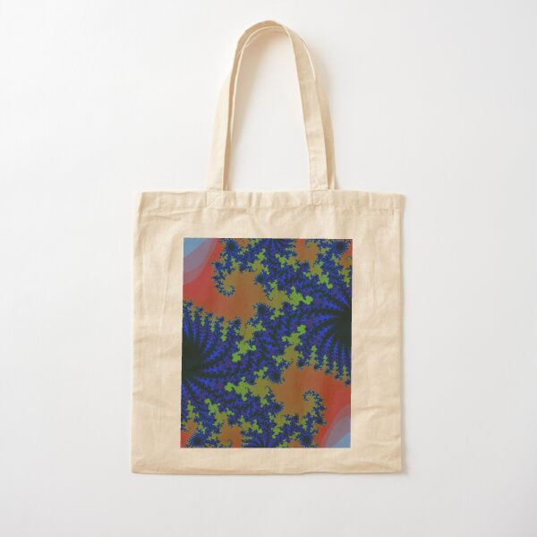 Fractal Art 19 designed and created by (c) Janet Watson Art Cotton Tote Bag