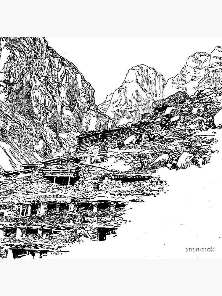 Mountain Landform by znamenski