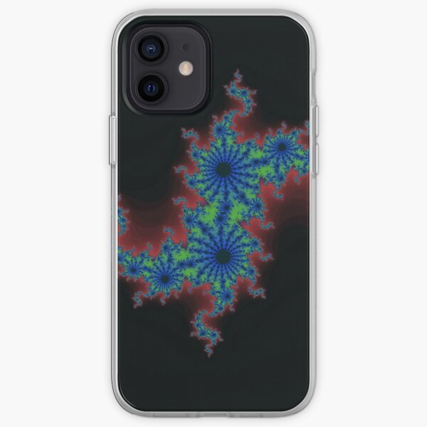 Fractal Art 20 designed and created by (c) Janet Watson Art iPhone Soft Case