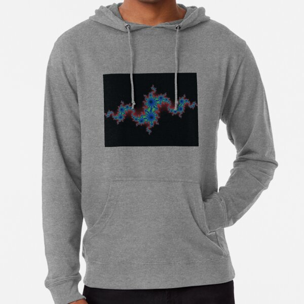 Fractal Art 20 designed and created by (c) Janet Watson Art Lightweight Hoodie