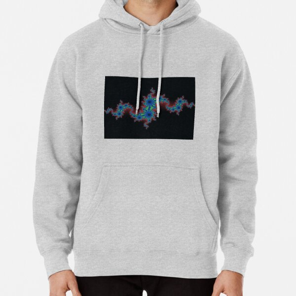Fractal Art 20 designed and created by (c) Janet Watson Art Pullover Hoodie