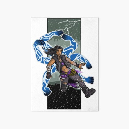 Amara The Siren Borderlands 3 The Tiger of Partali Art Board Print