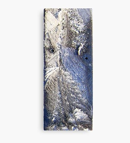Frost Owl #02 Canvas Print