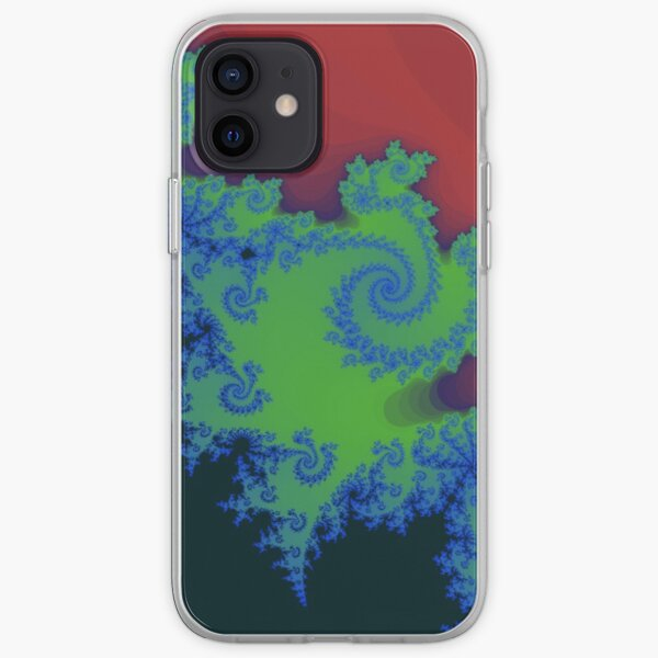 Fractal Art 18 designed and created by (c) Janet Watson Art iPhone Soft Case