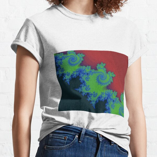 Fractal Art 18 designed and created by (c) Janet Watson Art Classic T-Shirt