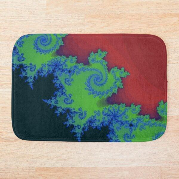 Fractal Art 18 designed and created by (c) Janet Watson Art Bath Mat