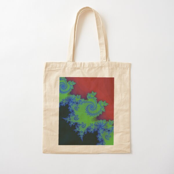Fractal Art 18 designed and created by (c) Janet Watson Art Cotton Tote Bag