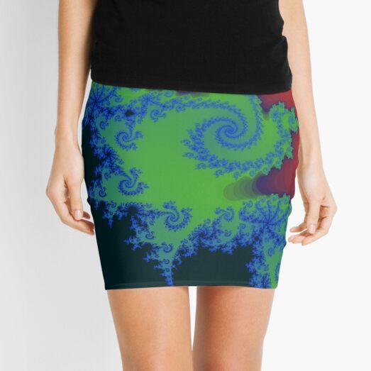 Fractal Art 18 designed and created by (c) Janet Watson Art Mini Skirt
