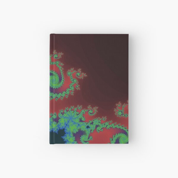 Fractal Art 17 designed and created by (c) Janet Watson Art Hardcover Journal