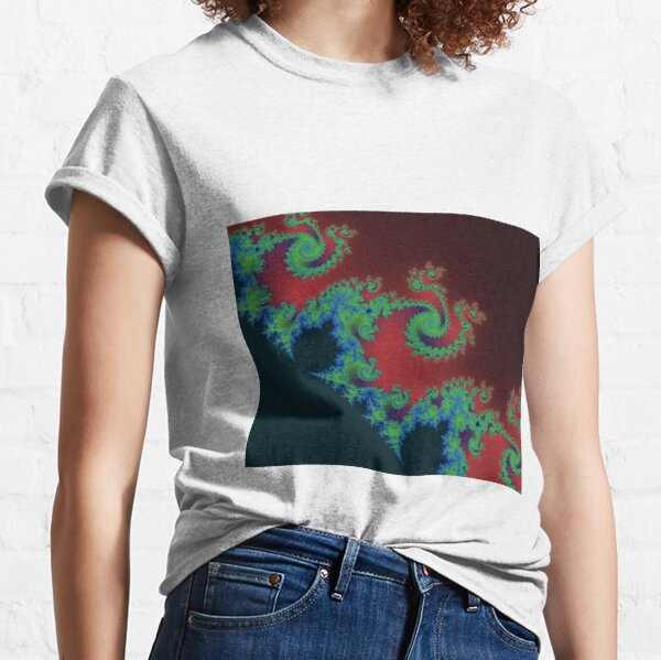 Fractal Art 17 designed and created by (c) Janet Watson Art Classic T-Shirt