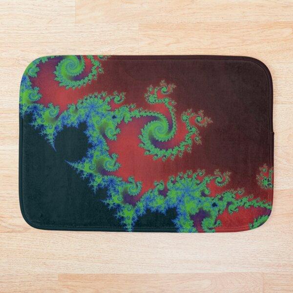 Fractal Art 17 designed and created by (c) Janet Watson Art Bath Mat