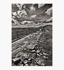 Broken Wall On The Ridge Photographic Print