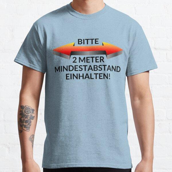 Corona Mindestabstand Classic T-Shirt