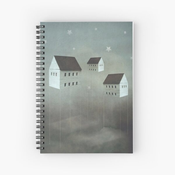 Architecture of Dreams Spiral Notebook