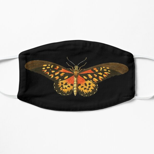 Big Colorful Butterfly: Personalized Gift Idea Flat Mask