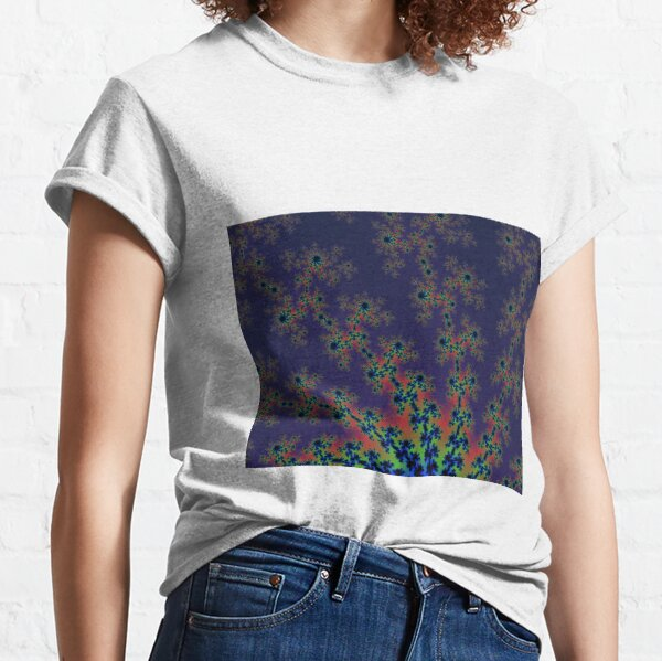 Fractal Art 12 designed and created by (c) Janet Watson Art Classic T-Shirt