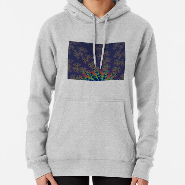 Fractal Art 12 designed and created by (c) Janet Watson Art Pullover Hoodie