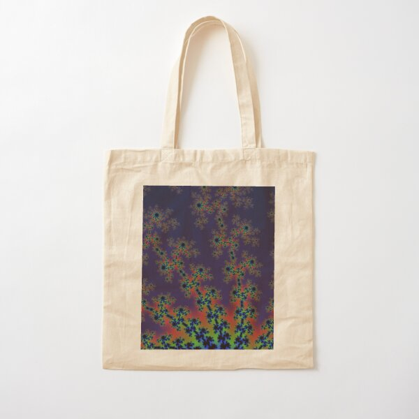 Fractal Art 12 designed and created by (c) Janet Watson Art Cotton Tote Bag