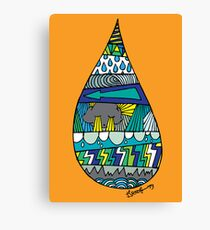 DROP IN! Canvas Print