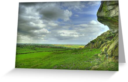 View from Almscliff Crag #2 by Colin Metcalf