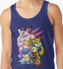 Pokemon Aren't Cute in Battle Tank Top