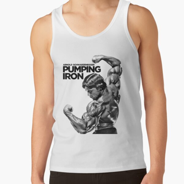 Arnold Schwarzenegger Pumping Iron Tank Top