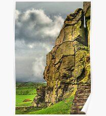 Almscliff Crag Profile #1 Poster