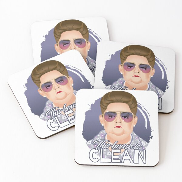 This house is clean Coasters (Set of 4)