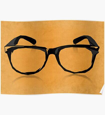 Geek Glasses Poster