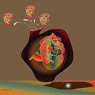 Vase and Flowers by IrisGelbart