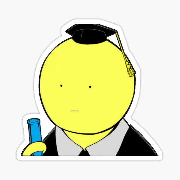 Assassination Classroom - Koro Sensei fan art ! Glossy Sticker