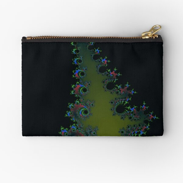 Fractal Art 7 designed and created by (c) Janet Watson Art Zipper Pouch