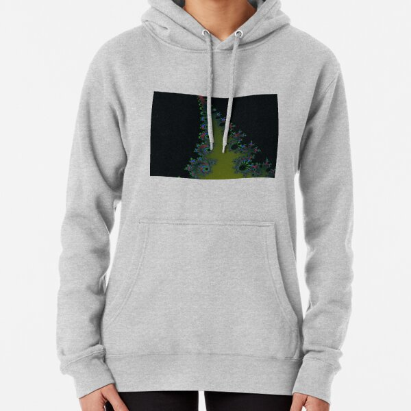 Fractal Art 7 designed and created by (c) Janet Watson Art Pullover Hoodie
