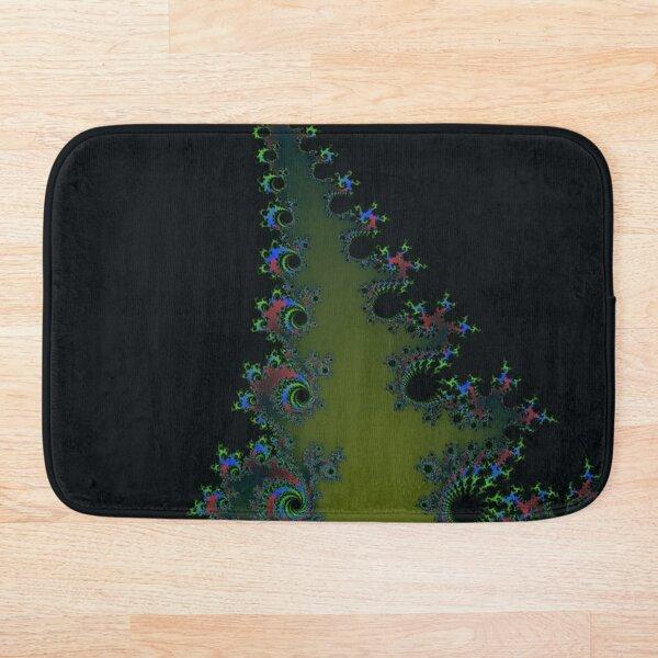Fractal Art 7 designed and created by (c) Janet Watson Art Bath Mat