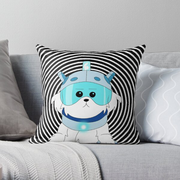 Lawnmower Dog - Rick and Morty Throw Pillow