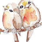 Two Little Birds 2 by Maree Clarkson