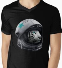 Astro Tiger Men's V-Neck T-Shirt