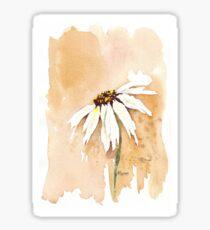 One White Daisy Sticker