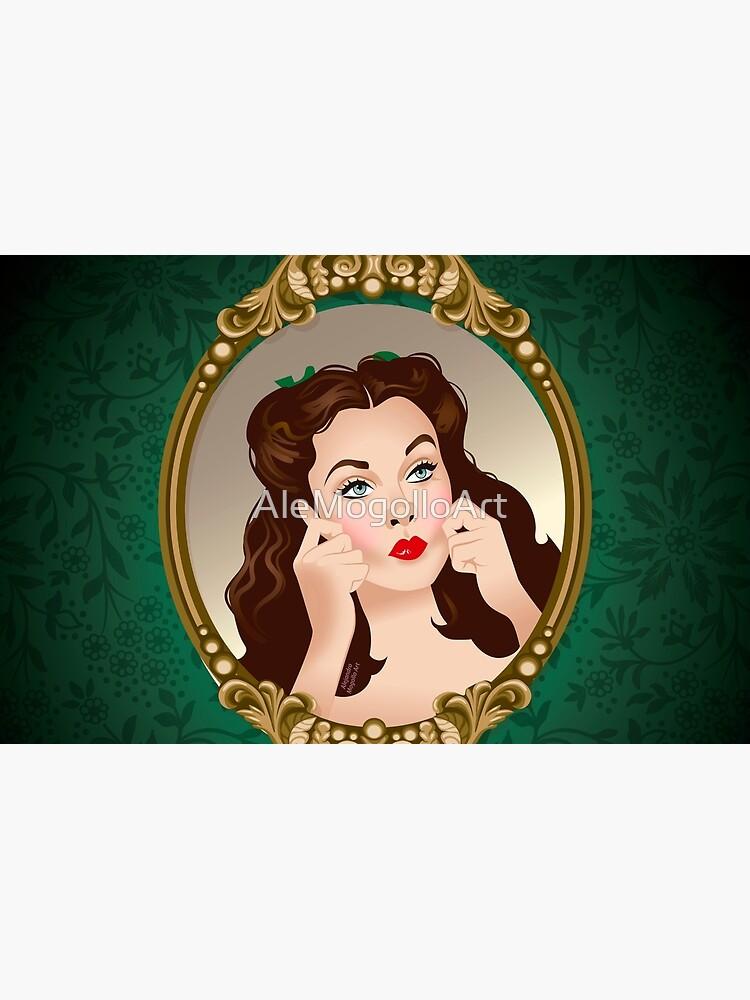Scarlett Mirror by AleMogolloArt
